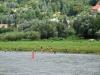 Die Schwimmer sind in Niederpoyritz gelandet