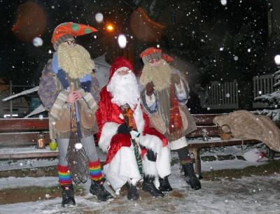 Bescherung mit dem Weihnachtsmann - Heiligabend für unsere Kinder