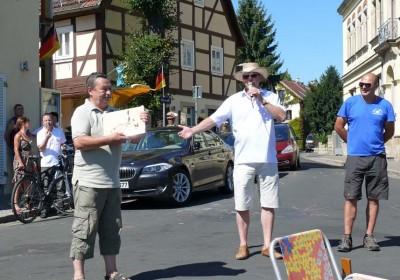 """Verleihung der """"Goldenen Insel"""" zum Laubegaster Frühstück 2012"""