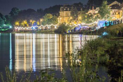 Laubegaster Ufer zum Inselfest